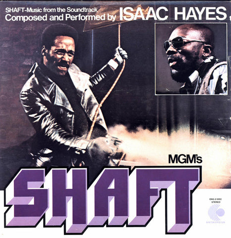 Isaac Hayes - Shaft (Soundtrack) 2 LP w/ gatefold