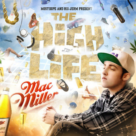 Mac Miller - The High Life - 2 LP set on colored vinyl!
