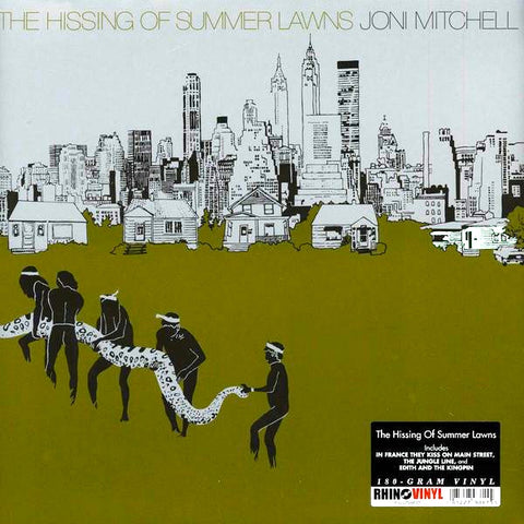 Joni Mitchell - The Hissing of Summer Lawns - 180g