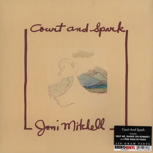 Joni Mitchell - Court and Spark - HQ 180g