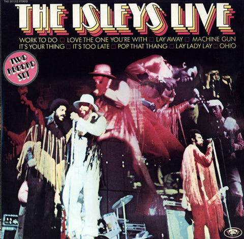 Isley Brothers - Live! - 2 LP set