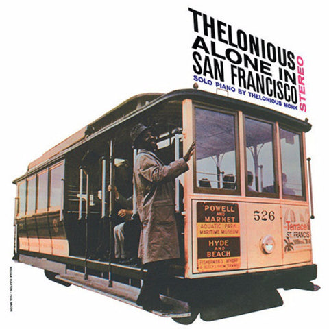 Thelonious Monk - Alone in San Francisco 180g import w/ gatefold + 2 bonus tracks