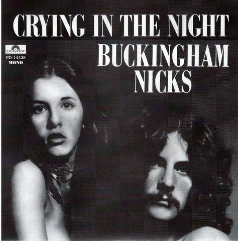 Buckingham Nicks - Crying in the Night stereo / mono w/ PS import on purple vinyl