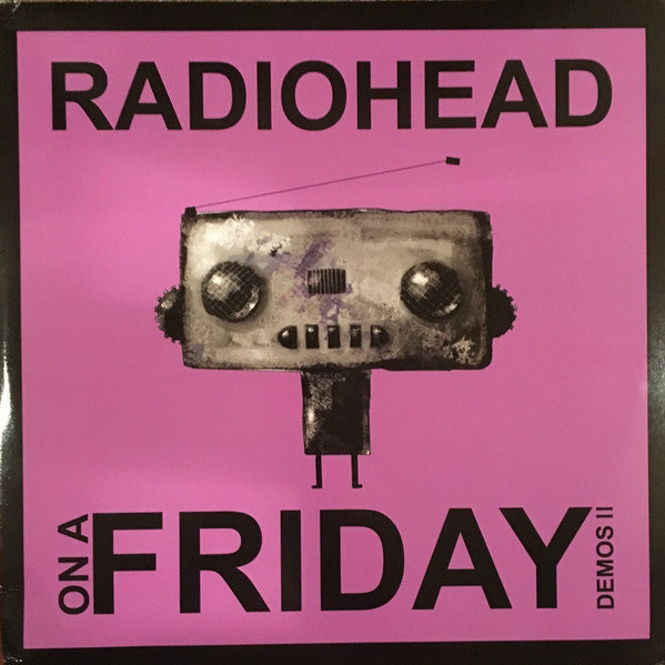 Radiohead - On a Friday - 2 import LPs of rare early demos on limited edition colored vinyl