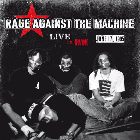 Rage Against the Machine - Live in Irvine '95 - 180g Colored Vinyl