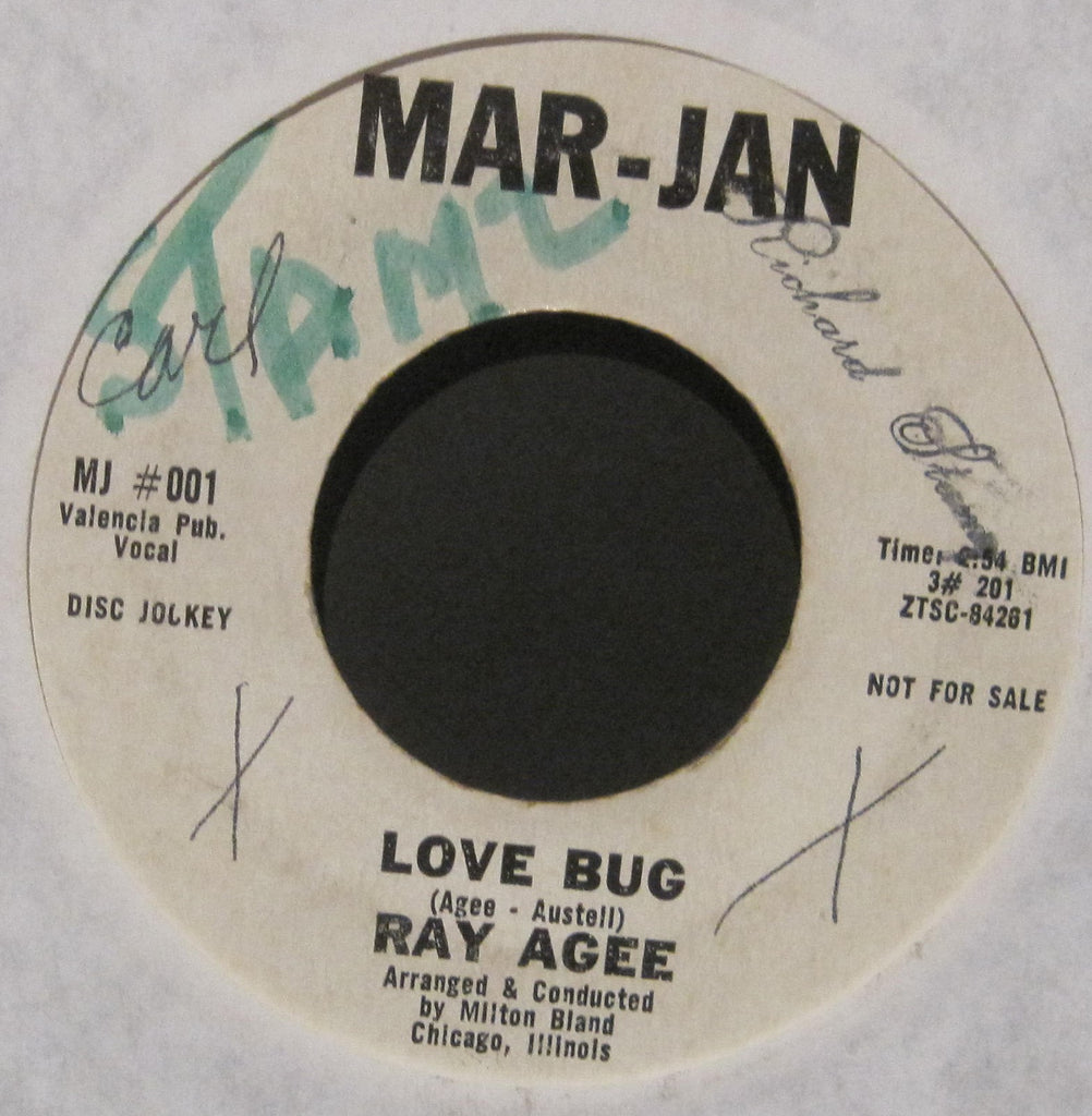 Ray Agee - Love Bug b/w These Things Are True  PROMO