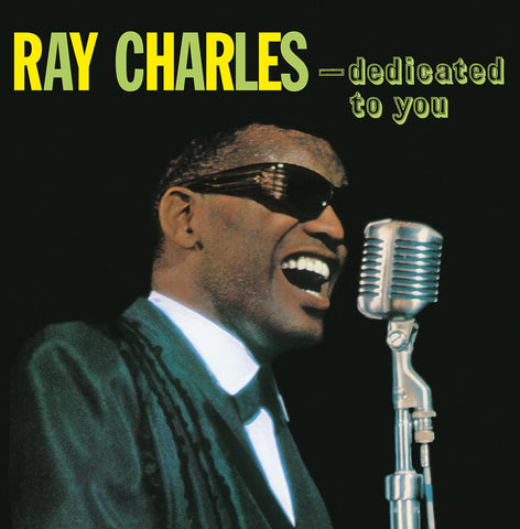 Ray Charles - Dedicated to You - 180g import LP Marty Paich