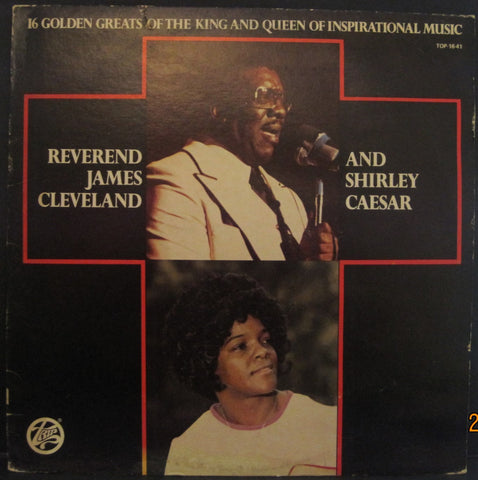 Rev. James Cleveland and Shirley Caesar - 16 Golden Greats