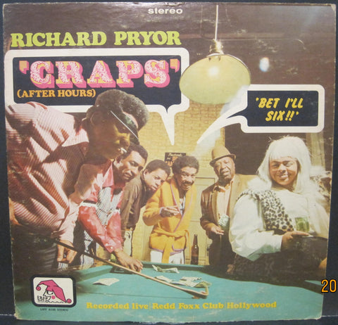 Richard Pryor - Craps (After Hours)