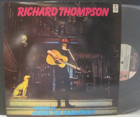 Richard Thompson Starring as Henry The Human Fly