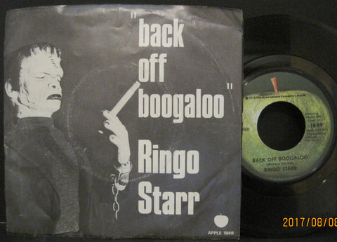 Ringo Starr - Back Off Boogaloo b/w Blindman