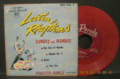 Roberto Gomez and His Orchestra - Latin Rhythms Ep