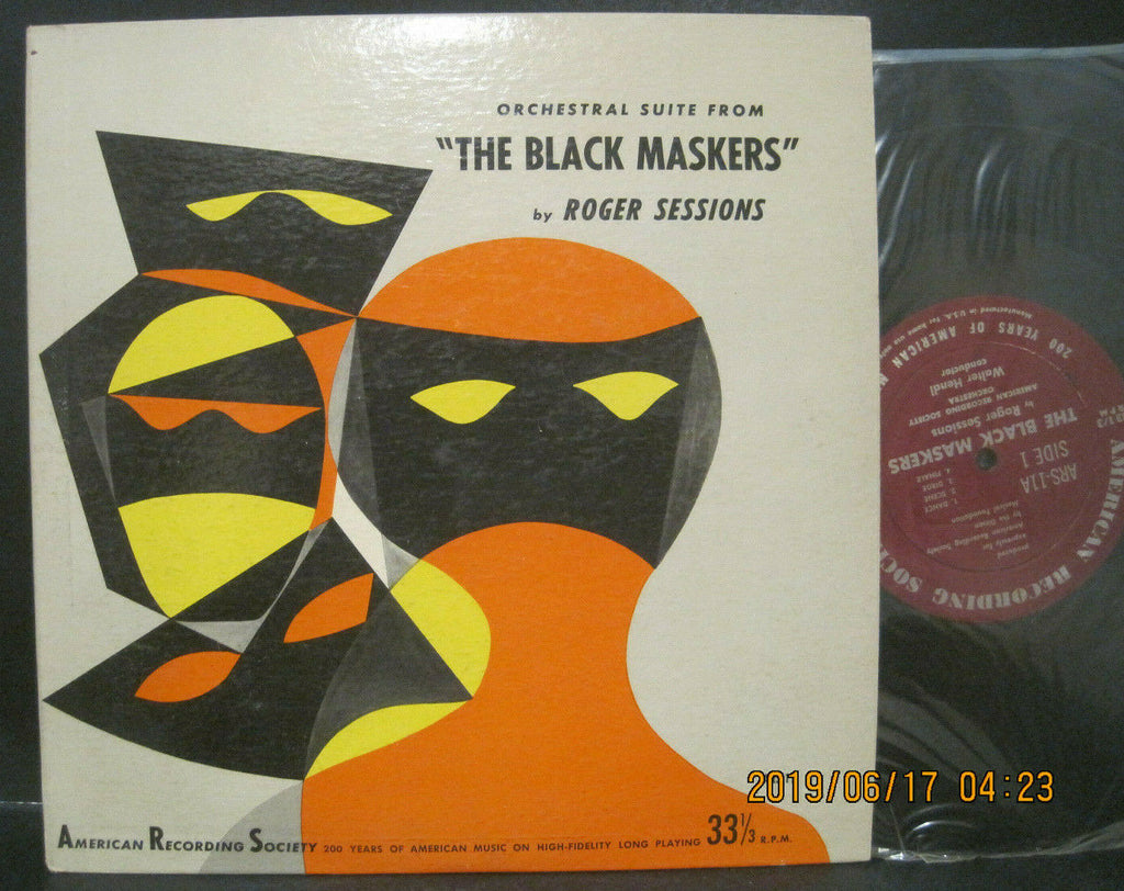 Roger Sessions - The Black Maskers