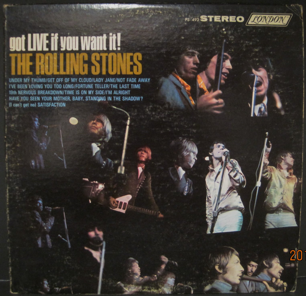 "Rolling Stones ""Got Live if You Want It"""