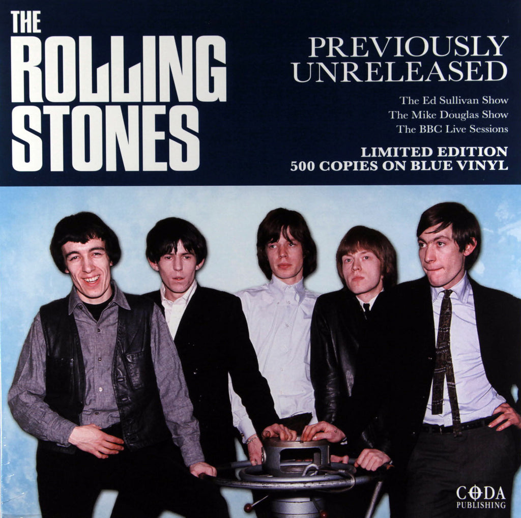 Rolling Stones - Previously Unreleased Import LP - Limited BLUE vinyl