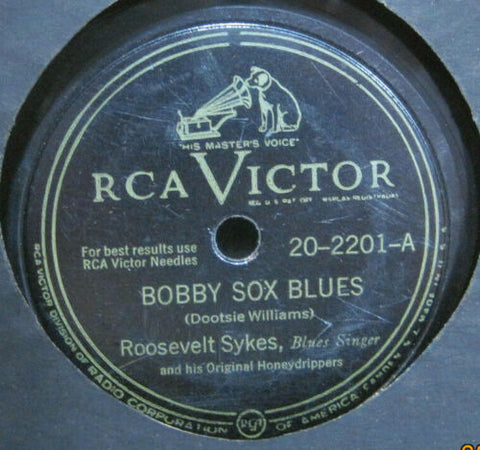 Roosevelt Sykes - Bobby Sox Blues b/w Peeping Tom