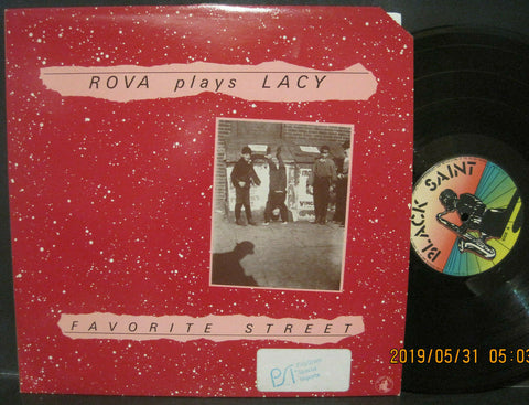 Rova Saxophone Quartet - Rova Plays Lacy / Favorite Street