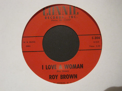 Roy Brown - I Love A Woman b/w Young Blood Twist