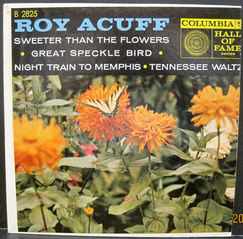 Roy Acuff - Tennessee Waltz Columbia Hall of Fame Ep