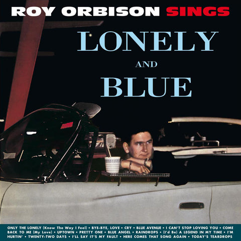 Roy Orbison - Lonely and Blue - 180g import LP w/ 4 bonus tracks