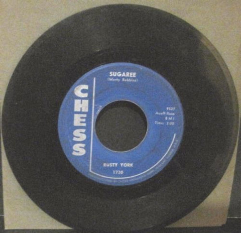 Rusty York - Sugaree b/w Red Rooster