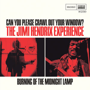 "Jimi Hendrix - Can You Please Crawl Out Your Window? / Burning of the Midnight Lamp 7"" Single w/ PS"
