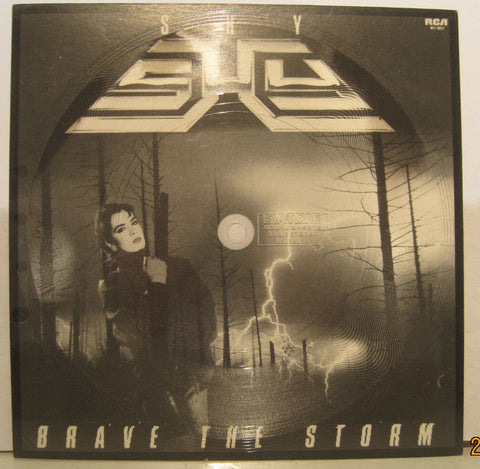 SHY with Tony Mills - Brave The Storm (Promo Flexi-Disc)
