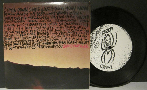 Sonic Youth & Lydia Lunch - Death Valley 69 b/w Brave Men Run (In My Family)