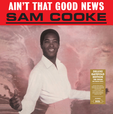 Sam Cooke - Ain't That Good News - import 180g LP w/ gatafold jacket
