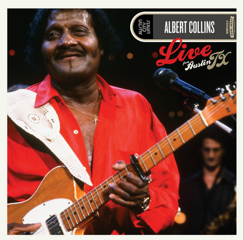 Albert Collins - Live from Austin TX 2 LP