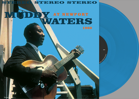 Muddy Waters - At Newport import colored vinyl