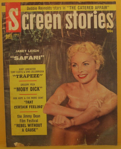 Screen Stories Magazine July 1956 Janet Leigh