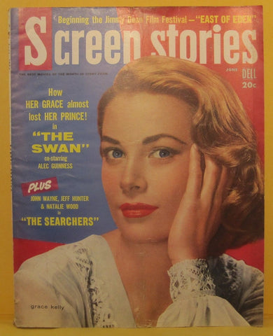 Screen Stories Magazine June 1956 Grace Kelly