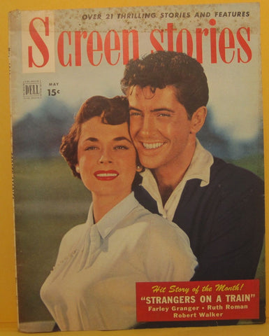 Screen Stories Magazine May 1951 Farley Granger