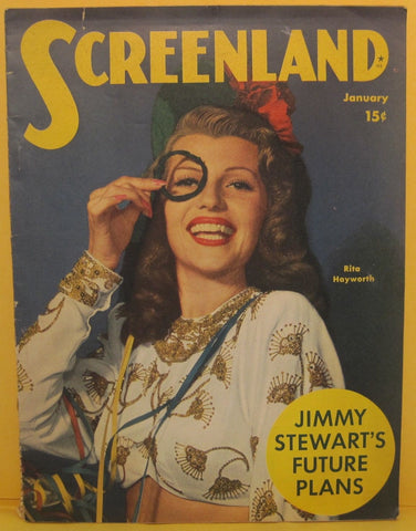 Screenland Magazine Jan. 1946 Rita Hayworth