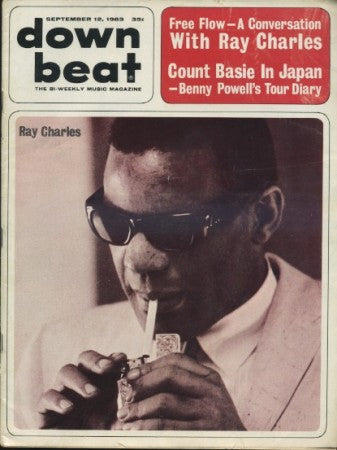Down Beat - Sept 12, 1963 / Ray Charles