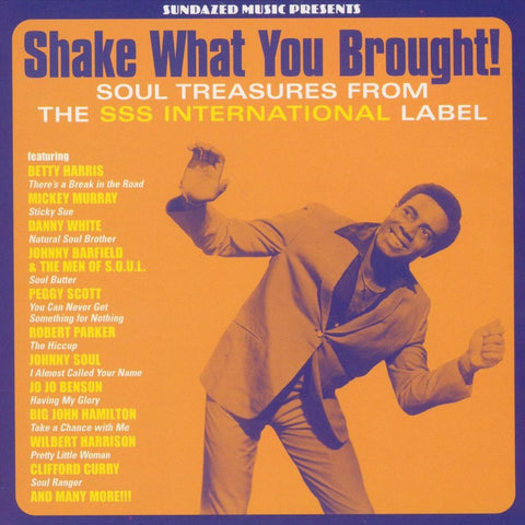 Various - Shake What You Brought - Soul Treasures from the SSS International label on limited gold vinyl
