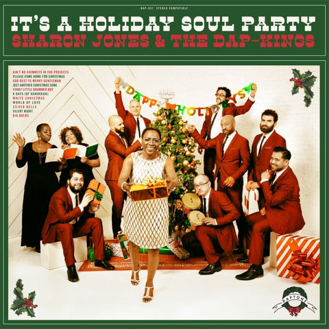 Sharon Jones & The Dap-Kings - It's a Holiday Soul Party Limited Edition GREEN Vinyl