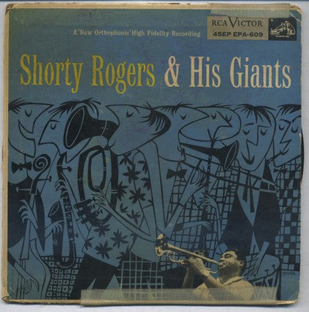 Shorty Rogers - The Goof & I / My Little Suede Shoes/ Joycycle / The Lady Is A Tramp