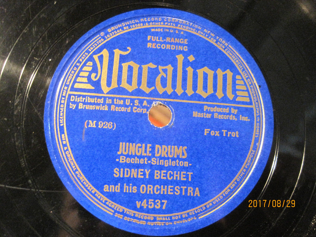 Sidney Bechet - Jungle Drums b/w Hold Tight