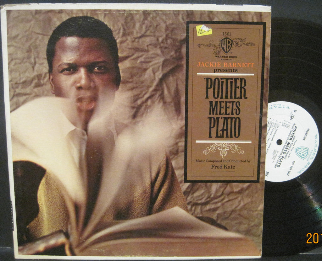 Sidney Poitier with Fred Katz - Poitier Meets Plato  PROMO