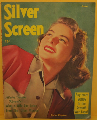Silver Screen Magazine June 1945 Ingrid Bergman