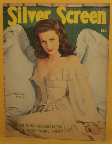 Silver Screen Magazine July 1945 Maureen O'Hara
