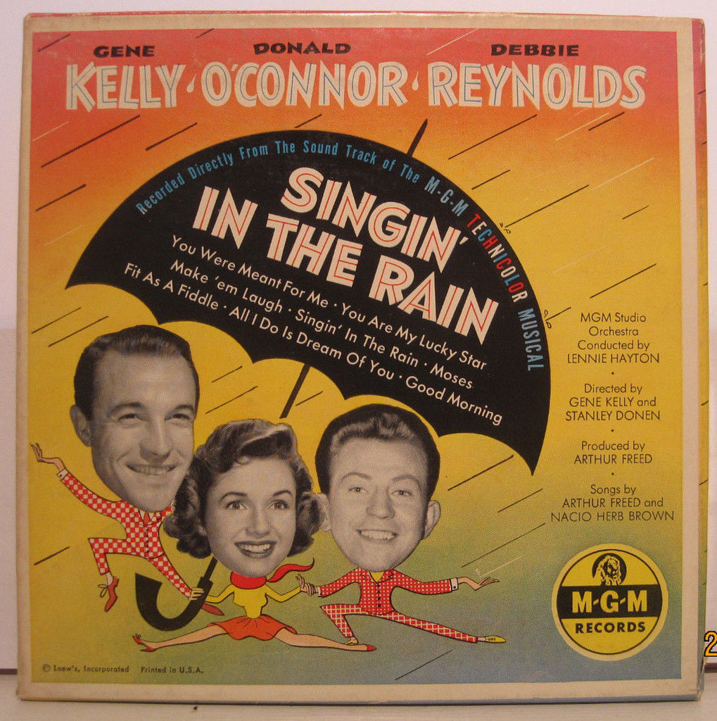 Singin' In The Rain - Soundtrack Four 45rpm Box Set