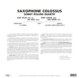 Sonny Rollins - Saxophone Colossus - 180g import on colored vinyl 20/20 series