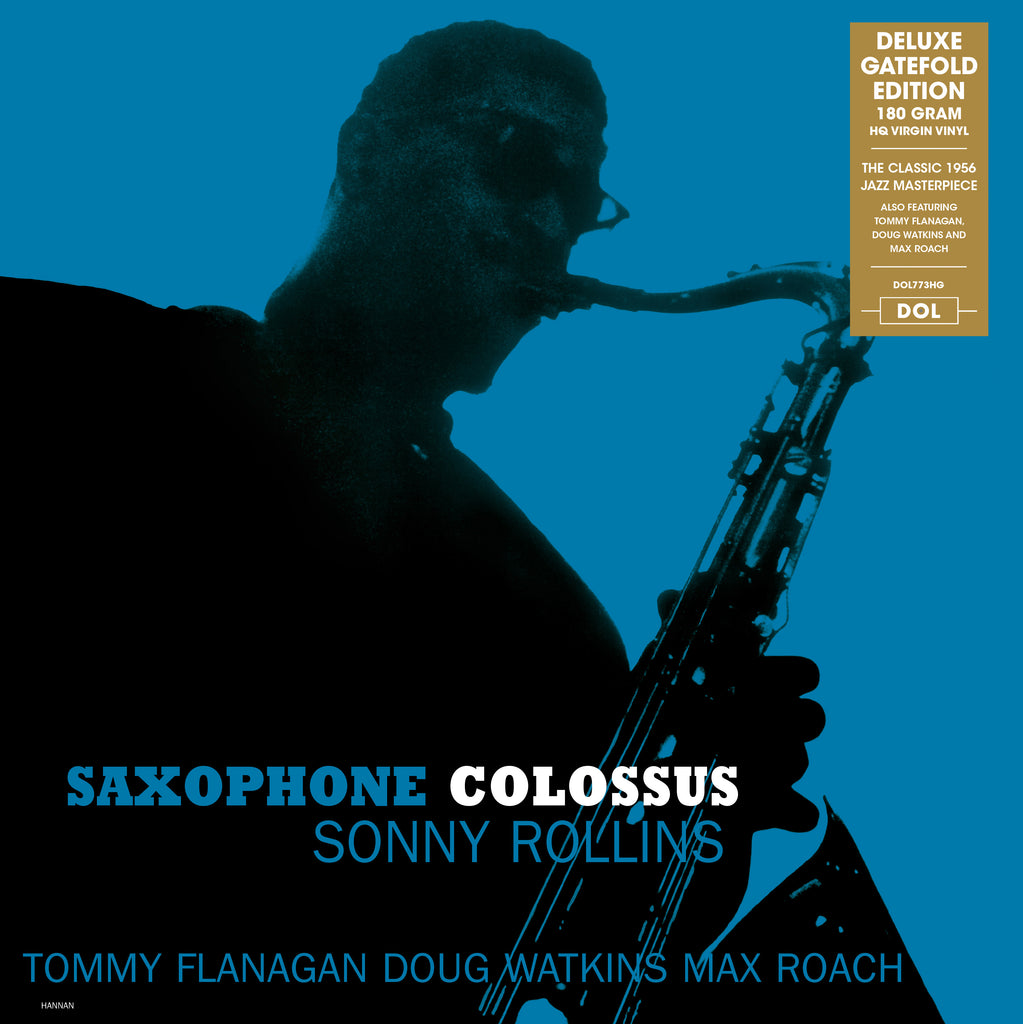 Sonny Rollins - Saxophone Colossus - 180g import w/ exclusive gatefold