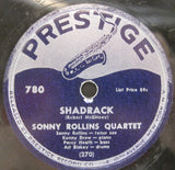 Sonny Rollins Quartet - Shadrack b/w With A Song In My Heart