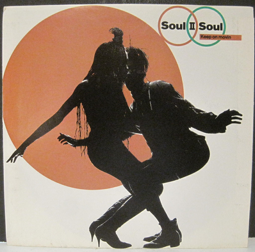Soul II Soul - Keep on Movin b/w Keep on Movin w/ PS
