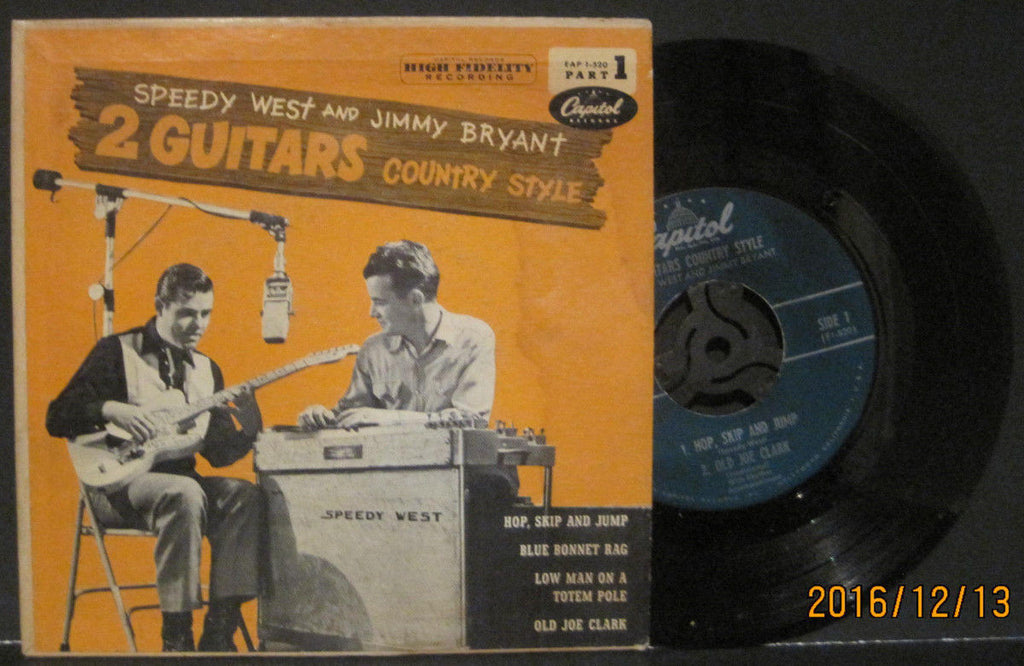 Speedy West & Jimmy Bryant - 2 Guitars Country Style EP Part 1