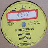 Jimmy Bryant and Speedy West - Bryant's Bounce b/w Serenade To A Frog  Promo
